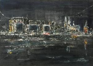 city- faces Nr. IV - city lights