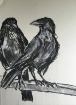 Artelier13-paintings-figurative-raven-Dagmar-Kuechler-Erfurt-007