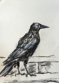 Artelier13-paintings-figurative-raven-Dagmar-Kuechler-Erfurt-008