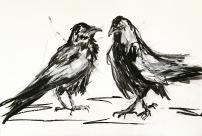 Artelier13-paintings-figurative-raven-Dagmar-Kuechler-Erfurt-009