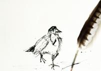 Artelier13-paintings-figurative-raven-Dagmar-Kuechler-Erfurt-0012