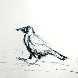 Artelier13-paintings-figurative-raven-Dagmar-Kuechler-Erfurt-0014