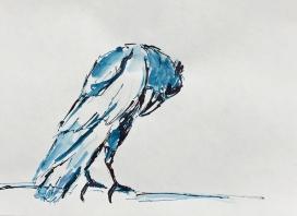 Artelier13-paintings-figurative-raven-Dagmar-Kuechler-Erfurt-0016