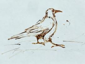 Artelier13-paintings-figurative-raven-Dagmar-Kuechler-Erfurt-0017