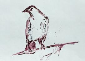 Artelier13-paintings-figurative-raven-Dagmar-Kuechler-Erfurt-0018