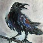 Artelier13-paintings-figurative-raven-Dagmar-Kuechler-Erfurt-001