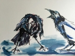 Artelier13-paintings-figurative-raven-Dagmar-Kuechler-Erfurt-006