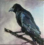 Artelier13-paintings-figurative-raven-Dagmar-Kuechler-Erfurt-003