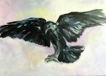 Artelier13-paintings-figurative-raven-Dagmar-Kuechler-Erfurt-005