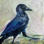 Artelier13-paintings-figurative-raven-Dagmar-Kuechler-Erfurt-002