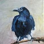 Artelier13-paintings-figurative-raven-Dagmar-Kuechler-Erfurt-004
