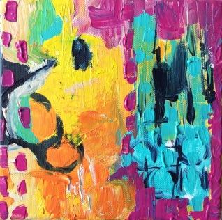 Artelier13-painting-abstract-rainbowdreams-Dagmar-Kuechler- Erfurt